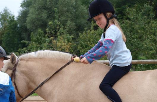Reiterspiele Kindergeburtstag